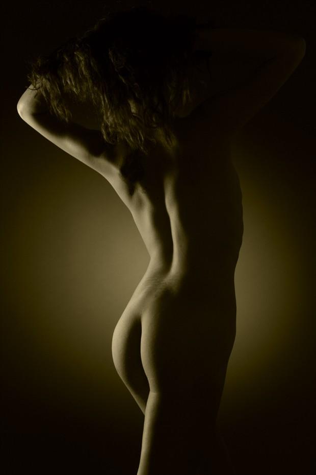 Sonorah Artistic Nude Photo by Photographer Pat Berrett