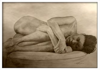 Sophia Artistic Nude Artwork by Artist Joel Thompson
