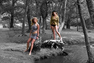 Sophie and Sophie Fashion Photo by Photographer Kenphotographer