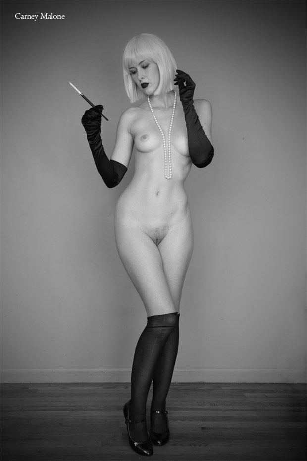 Sophisticated Artistic Nude Photo by Photographer Carney Malone