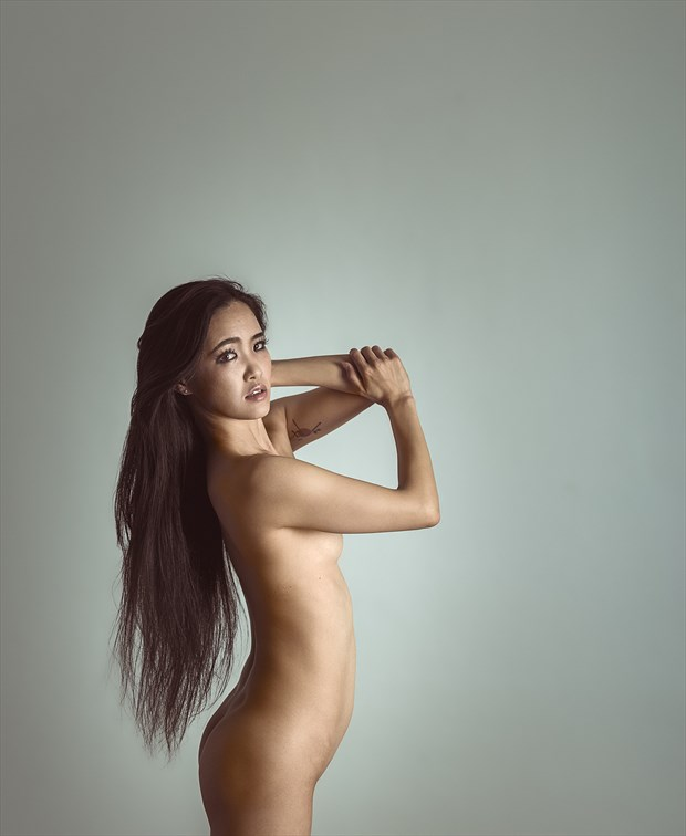 Space. Artistic Nude Photo by Photographer Steven World