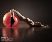 Spacehopper Artistic Nude Photo by Photographer John Tisbury
