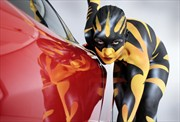 Speed Body Painting Artwork by Artist Bodypaint D%C3%BCsterwald