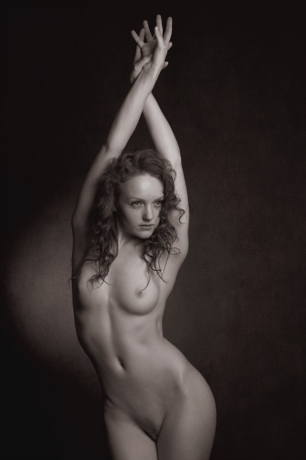 Spire Artistic Nude Photo by Photographer Mick Waghorne