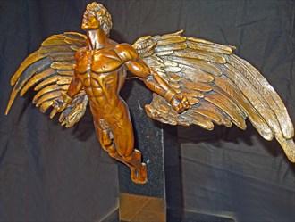 Spirit Flight Artistic Nude Artwork by Artist Robert Cottrell