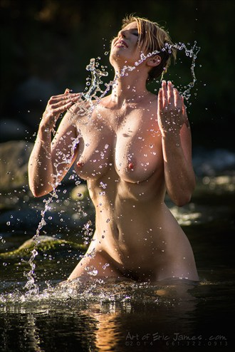 Splash Artistic Nude Photo by Photographer ArtofEricJames.com