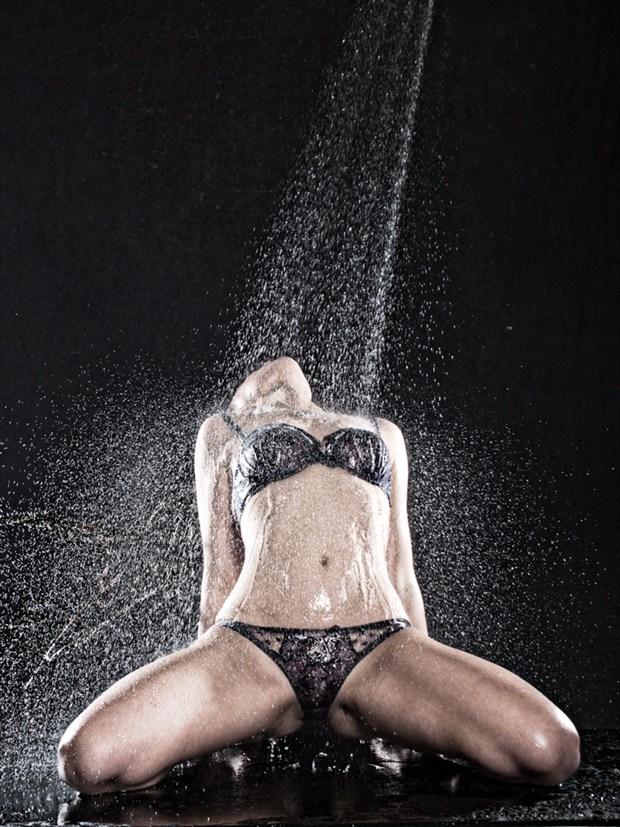 Sprayed Artistic Nude Artwork by Photographer subtleshades
