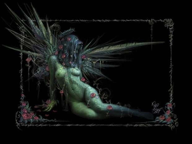 Spring Artistic Nude Artwork by Artist David Bollt