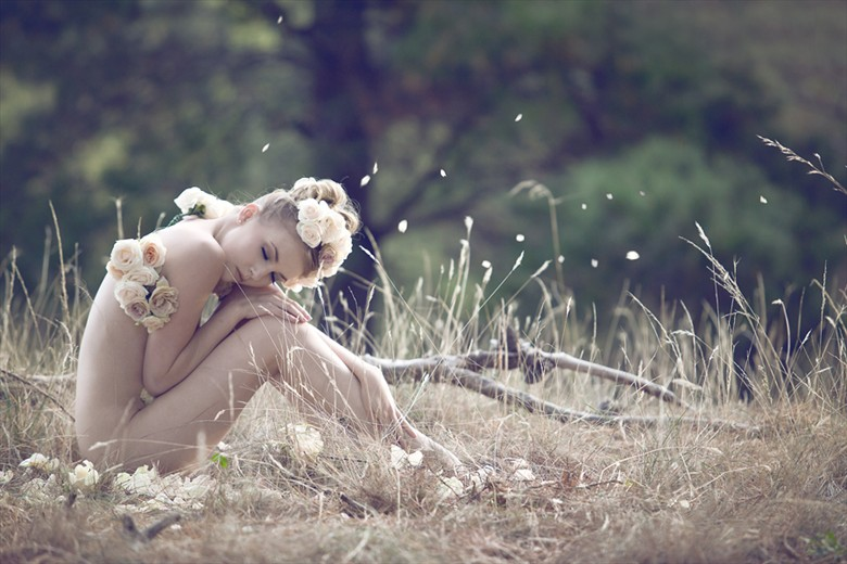 Spring Nymph Artistic Nude Photo by Model Sylph Sia