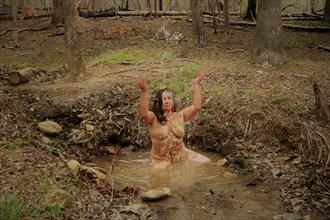 Sprinkles Artistic Nude Artwork by Photographer EnlightenedImagesNC