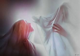 St%C5%82umione dusze Surreal Artwork by Photographer Katarzyna Wieczorek