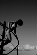 Stairway in the sky Artistic Nude Photo by Photographer Tim Ash