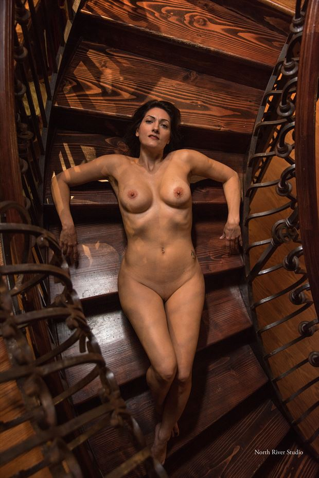 Stairway to heaven  Artistic Nude Photo by Model Ms_M