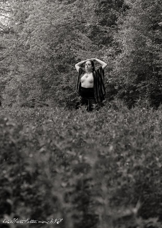 Stalk Artistic Nude Photo by Photographer Katie Potter
