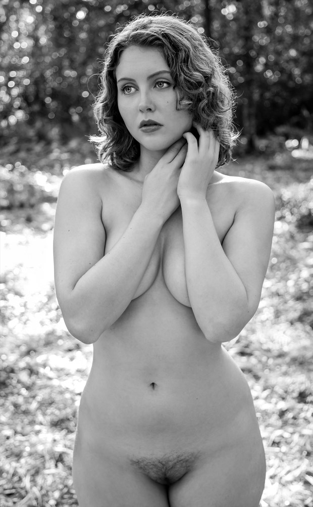 Standing Nude of Lila Blue Artistic Nude Photo by Photographer Risen Phoenix