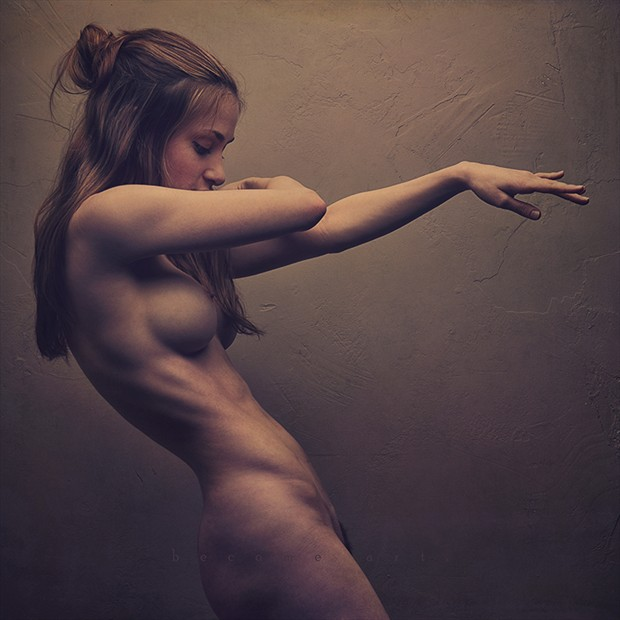 Statuesque  Artistic Nude Photo by Model MelissaAnn