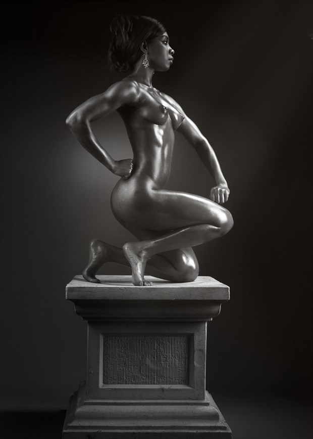 Statuesque  Artistic Nude Photo by Photographer Knottinfocus