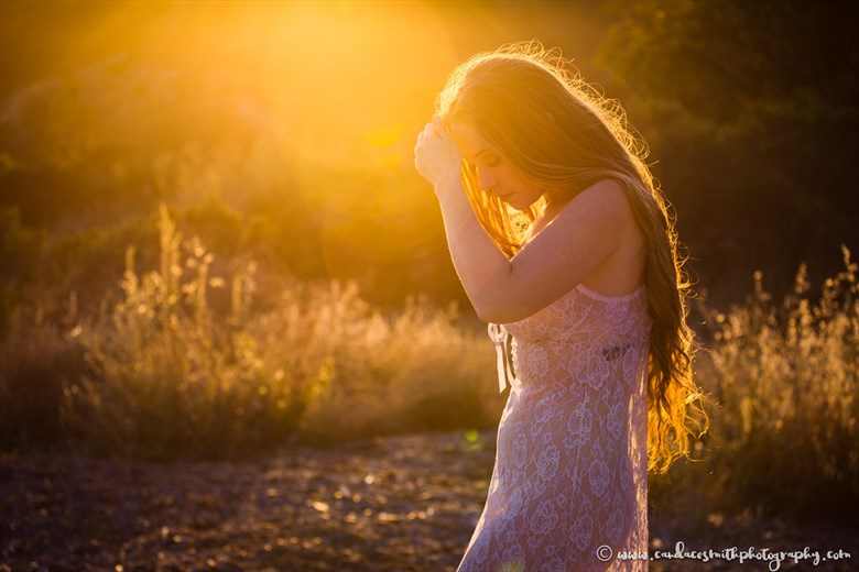 Stay Golden Nature Photo by Model AnudeMuse