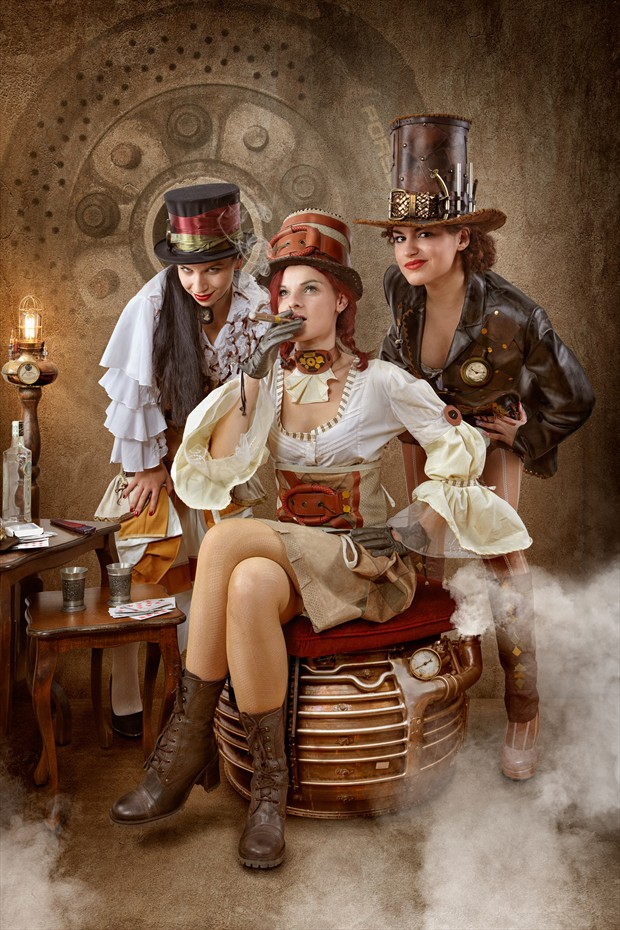 Steampunk Bandit Queen I Cosplay Photo by Photographer Von Sel Photo