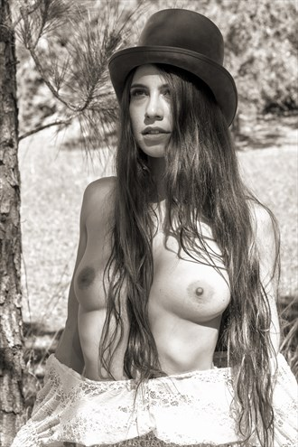 Steampunk Beauty Artistic Nude Photo by Photographer Johnny's Eye