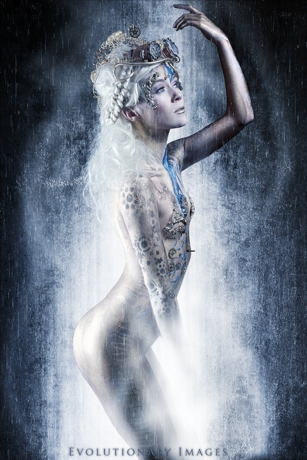 Steamy Shower Fantasy Photo by Photographer EvolutionaryImages
