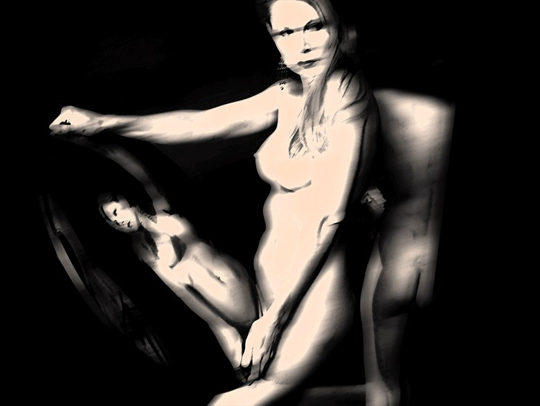Still Motion 3 Artistic Nude Artwork by Photographer Frederic