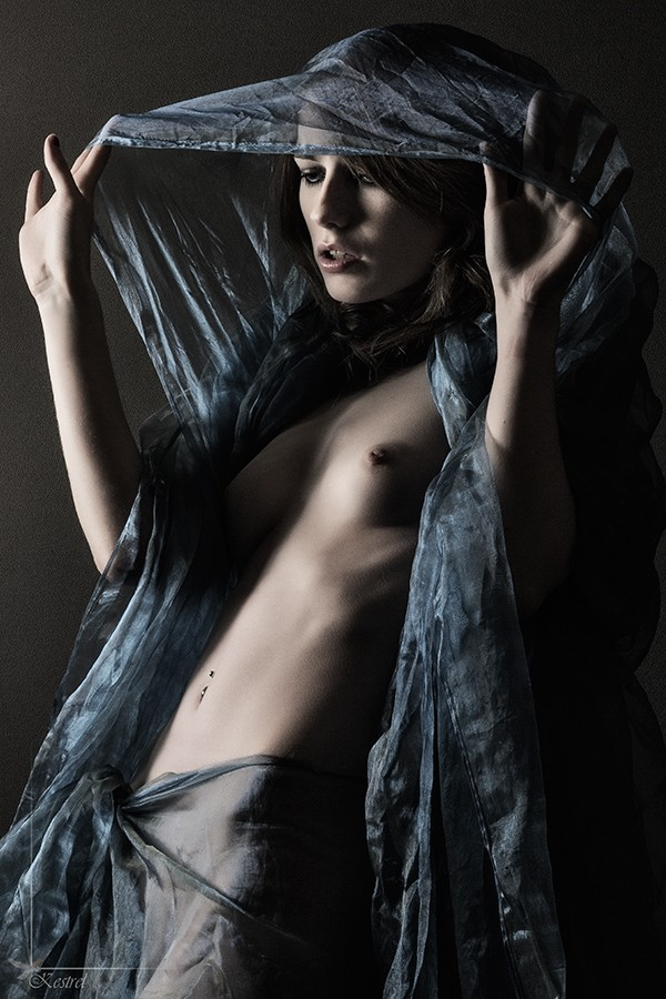 Still got the blues. Artistic Nude Photo by Photographer Kestrel