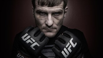 Stipe Miocic Portrait Surreal Photo by Photographer Tony Mandarich