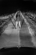 Stop! Artistic Nude Photo by Model Eva Lunia