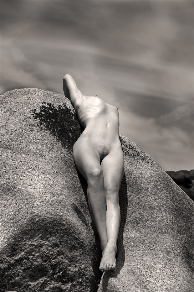 Storm Clouds Figure Study Photo by Photographer Eric Lowenberg