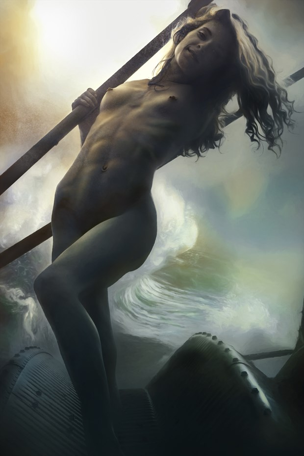 Storm Surge Artistic Nude Artwork by Artist Todd F. Jerde