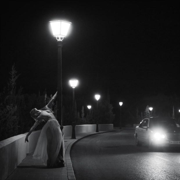 Street light Artistic Nude Photo by Photographer John Evans