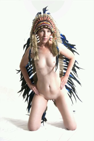 Strength  Artistic Nude Artwork by Model Southern Flare