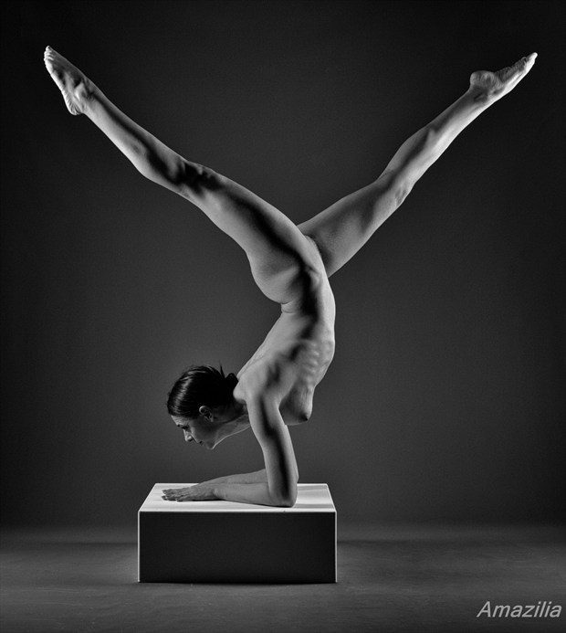 Strength and Beauty Artistic Nude Photo by Photographer Amazilia Photography