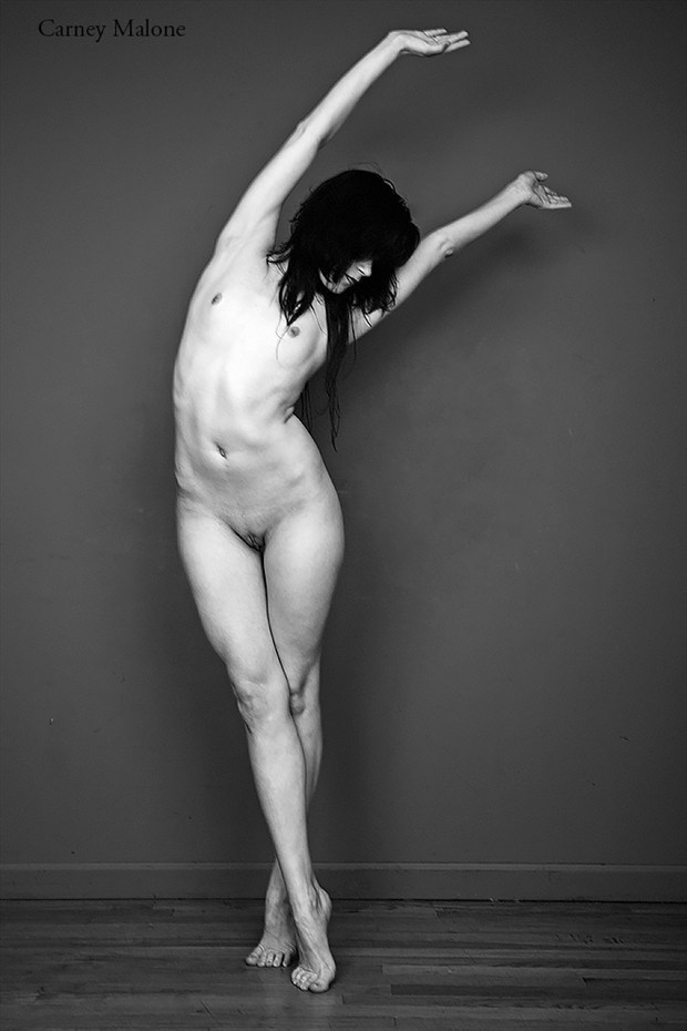 Stretch Artistic Nude Photo by Photographer Carney Malone