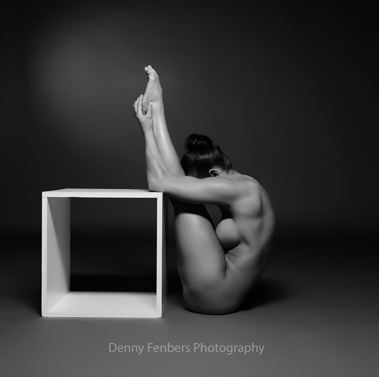 Stretching against all odds Artistic Nude Photo by Model Ceara Blu