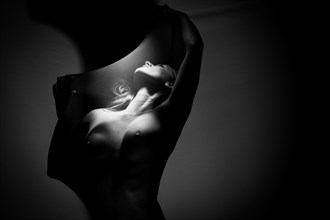 Stretchy Artistic Nude Photo by Photographer DaveMylesPhotography