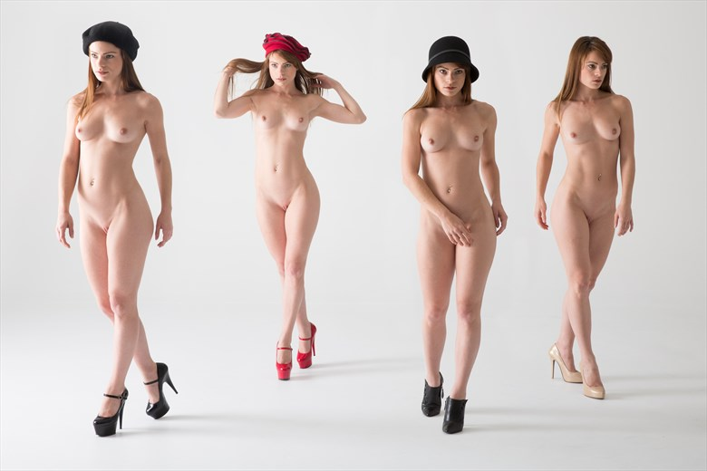 Striding Nudes Artistic Nude Photo by Photographer Stephen Wong