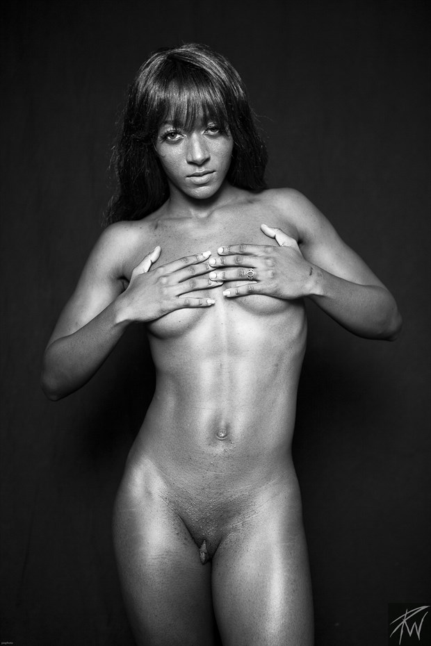 Strong Black Woman Artistic Nude Photo by Photographer PWPhoto