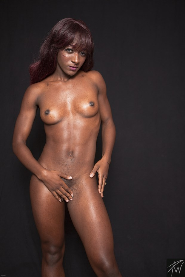 Strong Black Woman II Artistic Nude Photo by Photographer PWPhoto