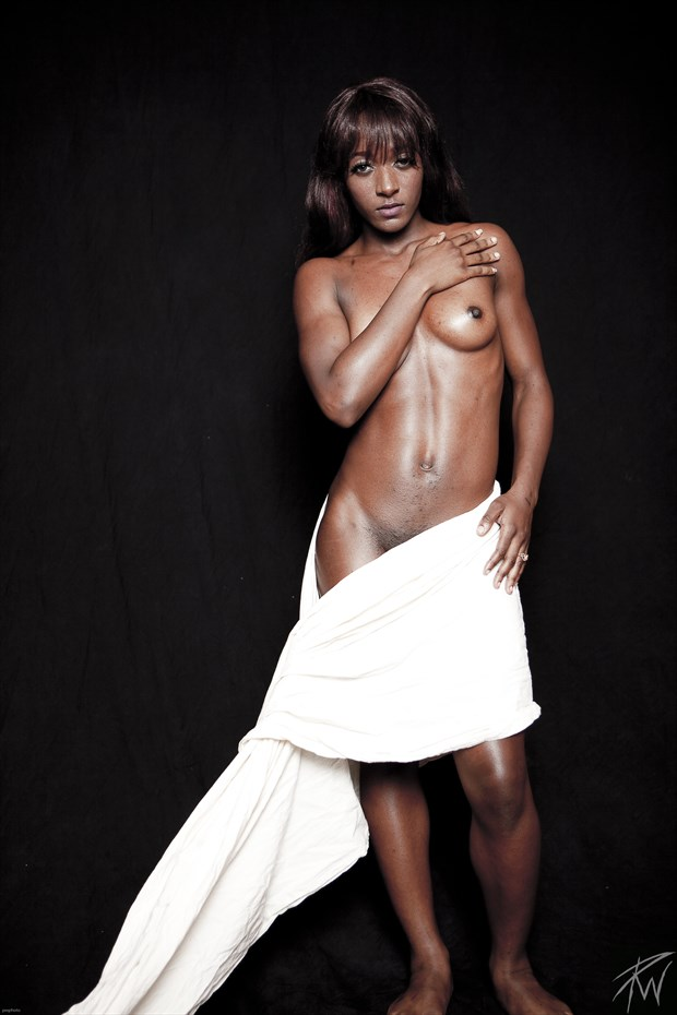 Strong Black Woman IV Artistic Nude Photo by Photographer PWPhoto