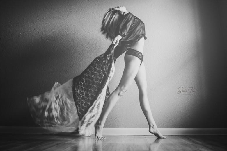 Strut Lingerie Photo by Model Shaun Tia