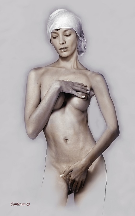 Studio 02 Artistic Nude Artwork by Artist Contesaia