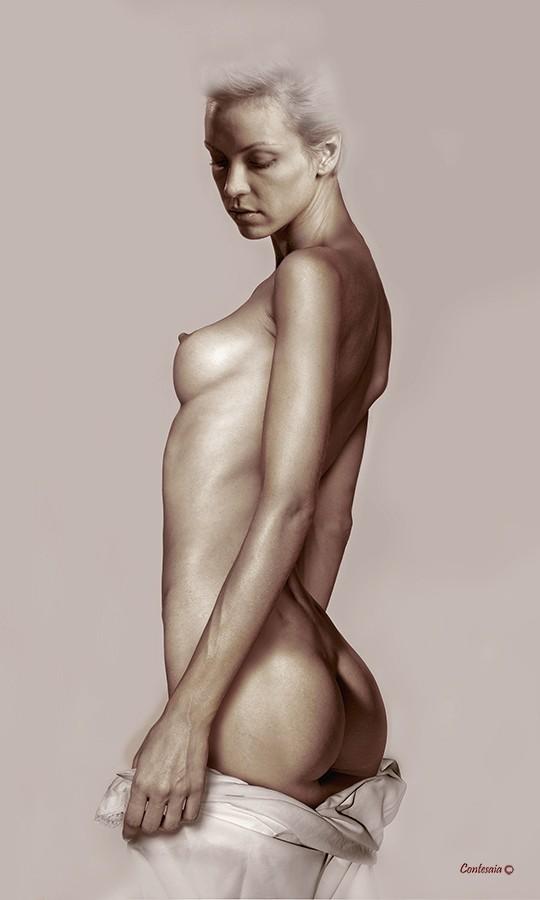 Studio 15 Artistic Nude Artwork by Artist Contesaia