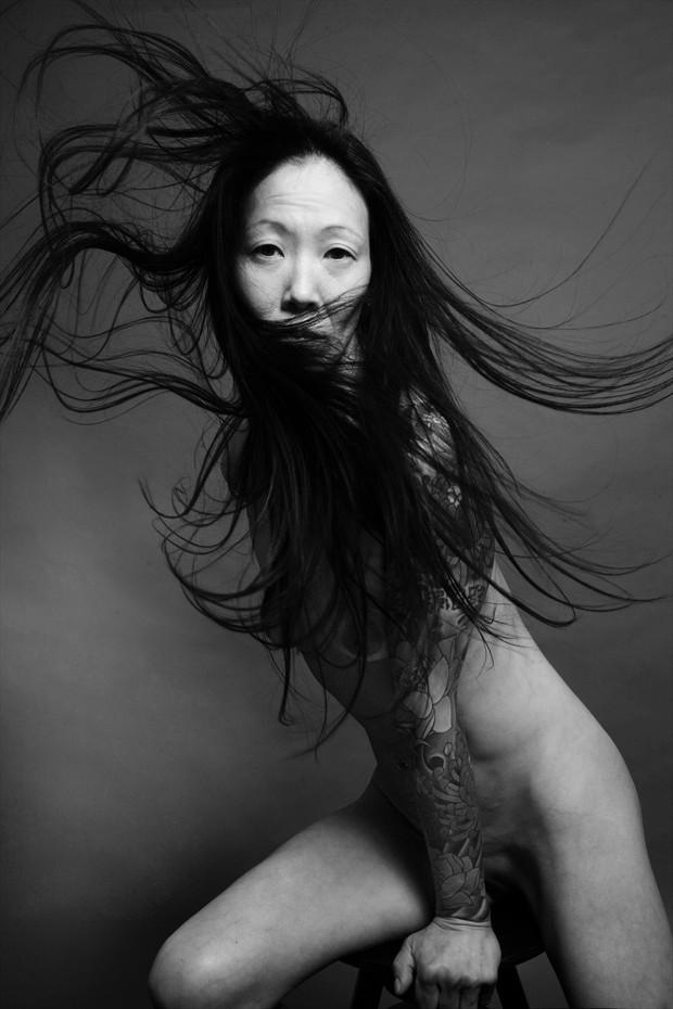 Studio 54 Tattoos Artwork by Model Ree Ja