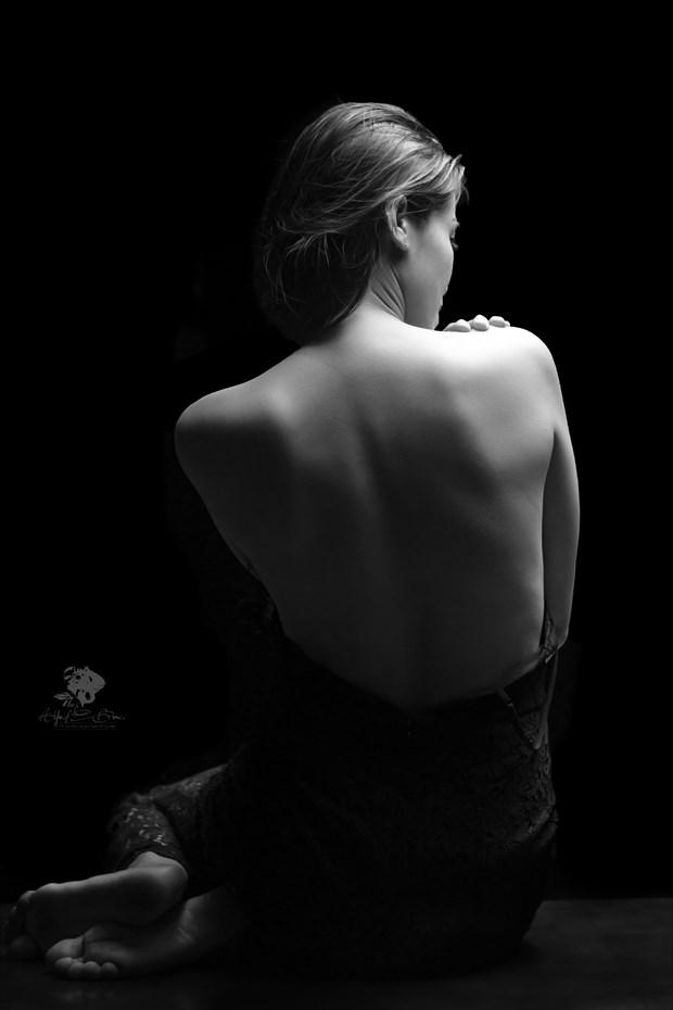 Studio Lighting Expressive Portrait Photo by Model CherryB
