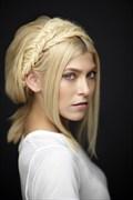 Studio Lighting Expressive Portrait Photo by Model Erika Apelgren