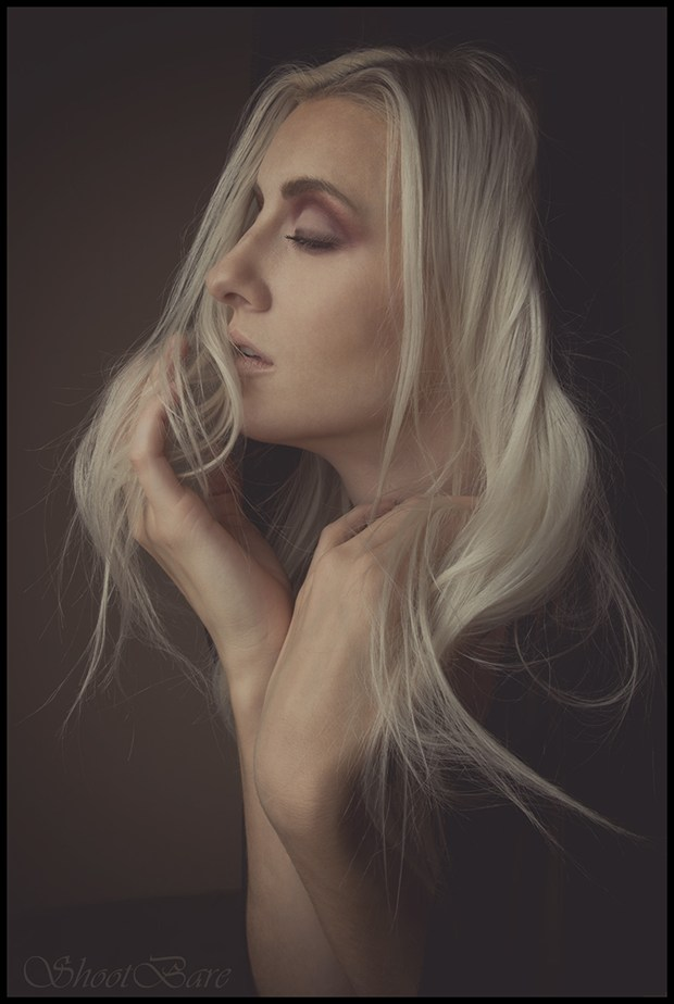 Studio Lighting Expressive Portrait Photo by Model Ryann S