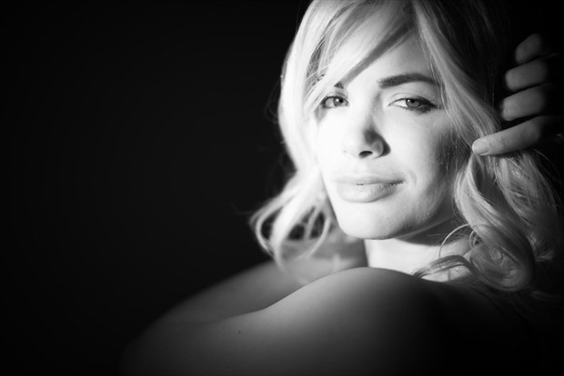 Studio Lighting Expressive Portrait Photo by Model TrixieShiksa