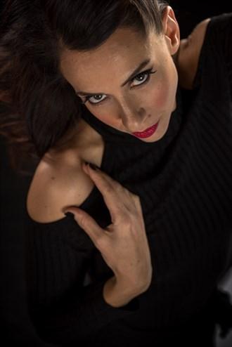 Studio Lighting Expressive Portrait Photo by Photographer BCDan